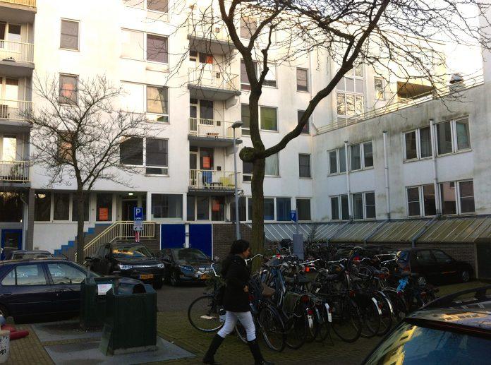 Studentenwoningen aan het Vondelpark