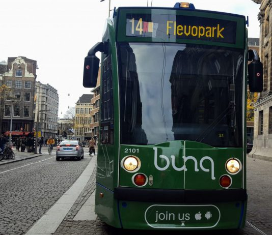 Tram 14, Dam, Amsterdam-Centrum, Openbaar Vervoer, Amsterdam-West