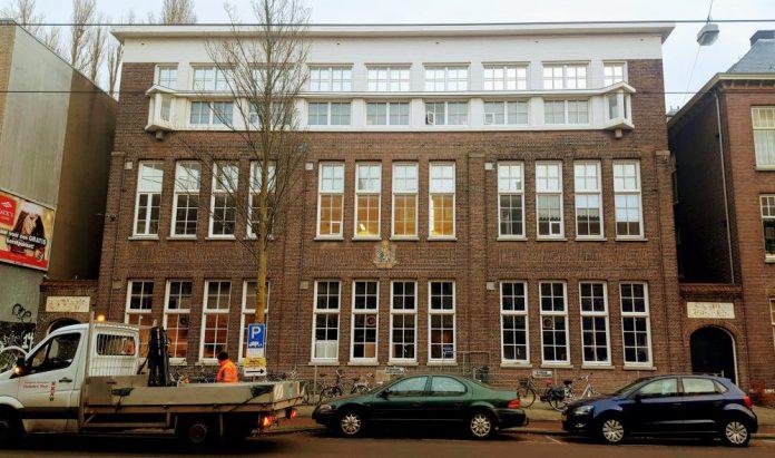 schoolgebouw Admiraal de Ruijterweg, Bos en Lommer, Amsterdam