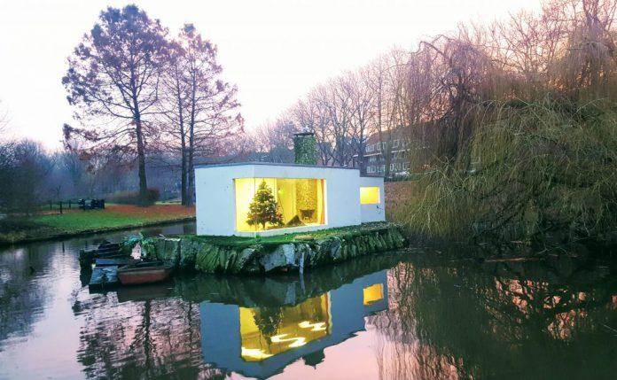 Erasmuspark Bos en Lommer, Kerst, Villa, Amsterdam-West, Amsterdam
