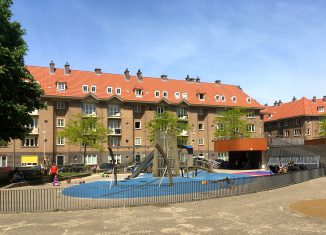 Zaandammerplein in de Spaarndammerbuurt