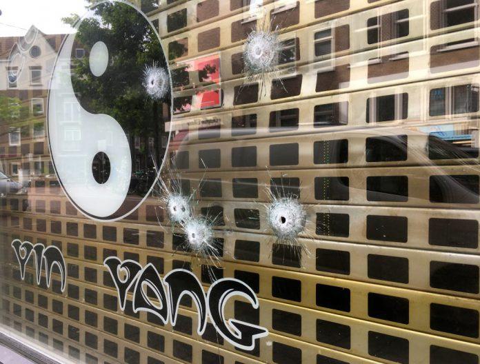 Coffeeshop Yin Yang Spaarndammerbuurt beschoten